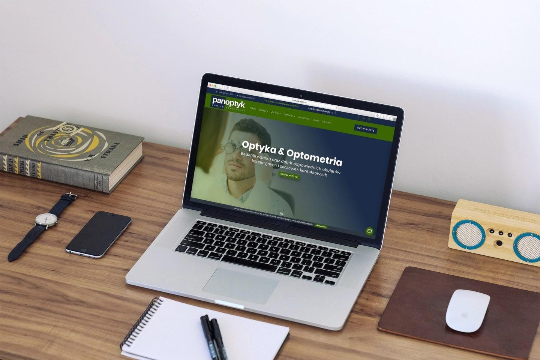 Strona Internetowa dla Centrum Optycznego - www.ginter.pro