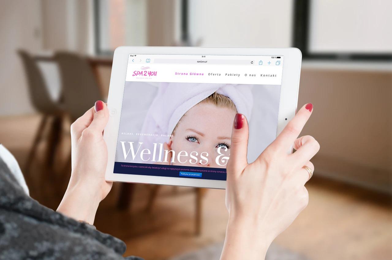 Strona internetowa dla Centrum SPA & Wellness - www.ginter.pro