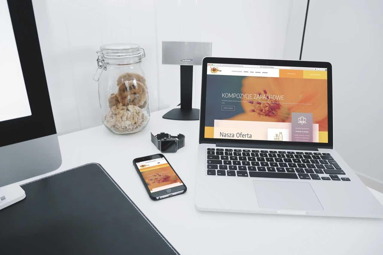 Strona internetowa dla Producenta Aromatów Zapachowych - www.ginter.pro