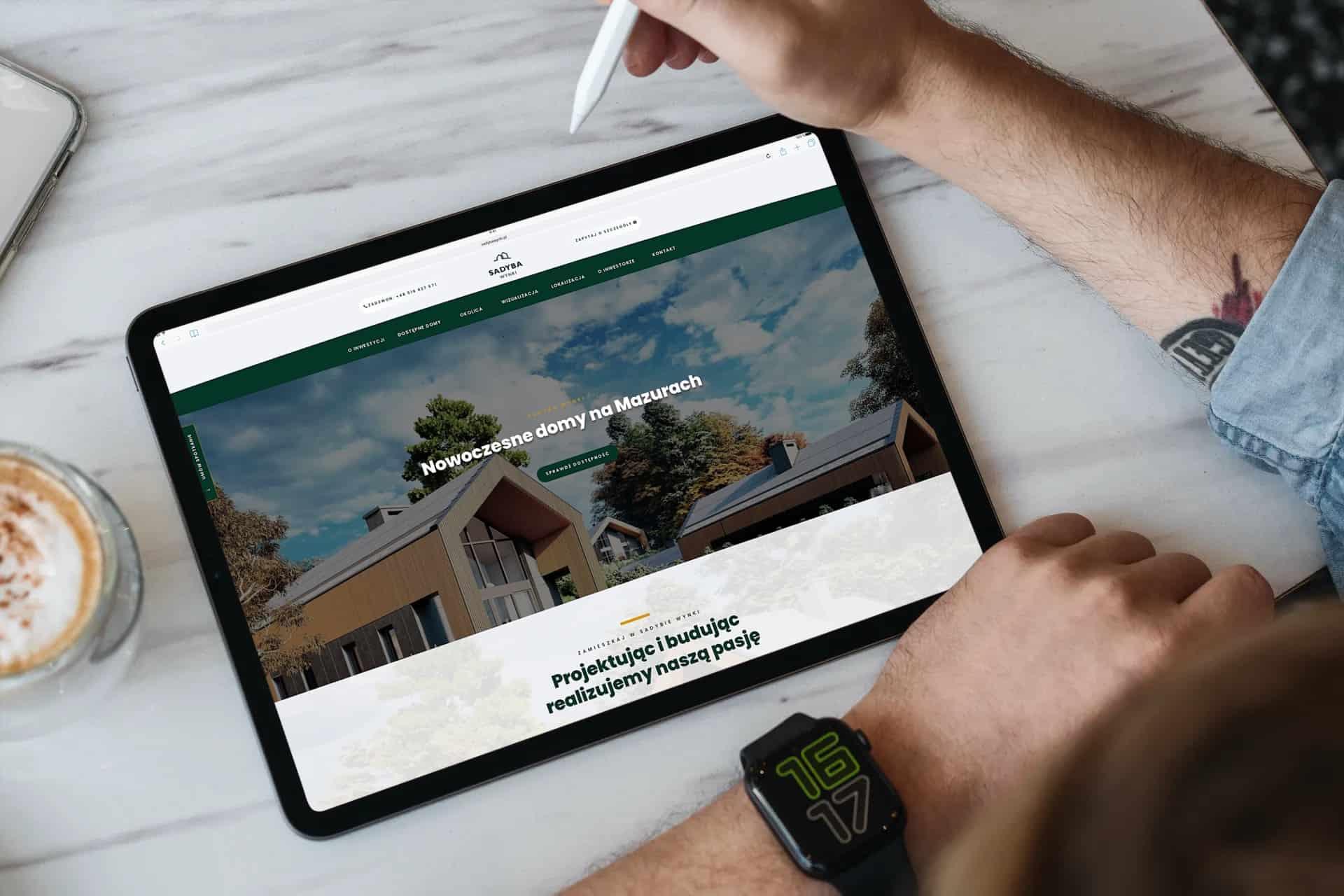 strona internetowa dla developera z Warszawy (1)