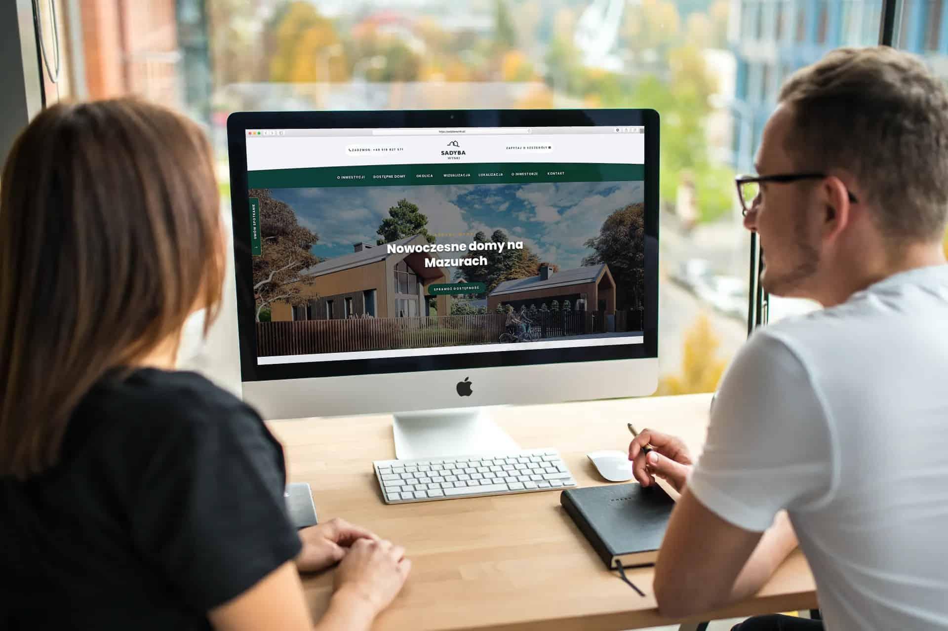 strona internetowa dla firmy z branży przemysłowej