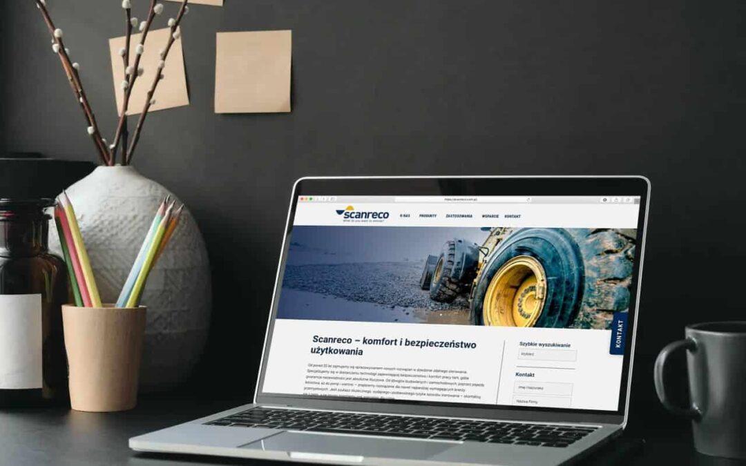 Strona internetowa dla Producenta Sterowników