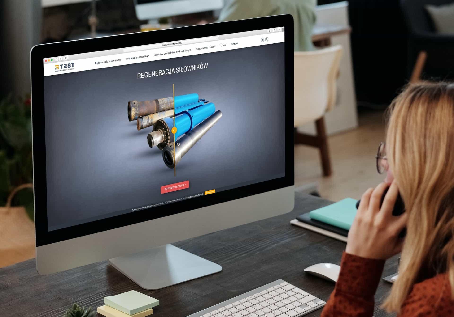 projekt strony internetowej dla firmy usługowej - Ginter (2)