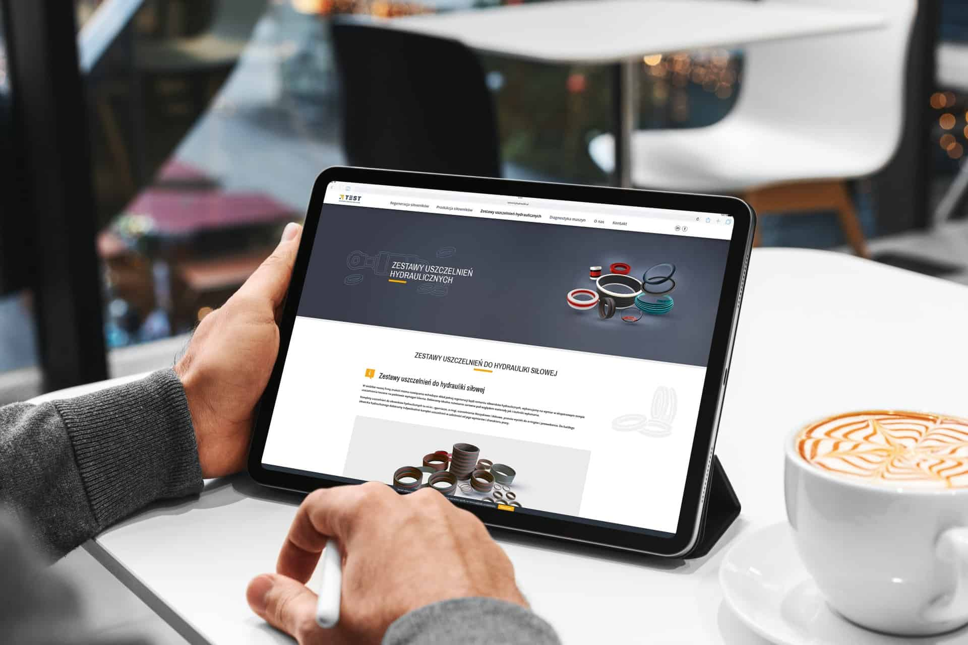 projekt strony internetowej dla firmy usługowej - Ginter (4)