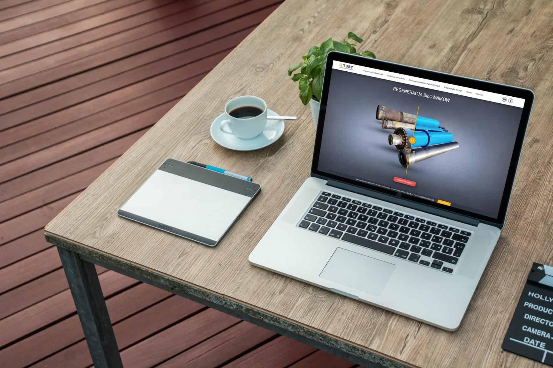 projekt strony internetowej dla firmy usługowej - Ginter (5)