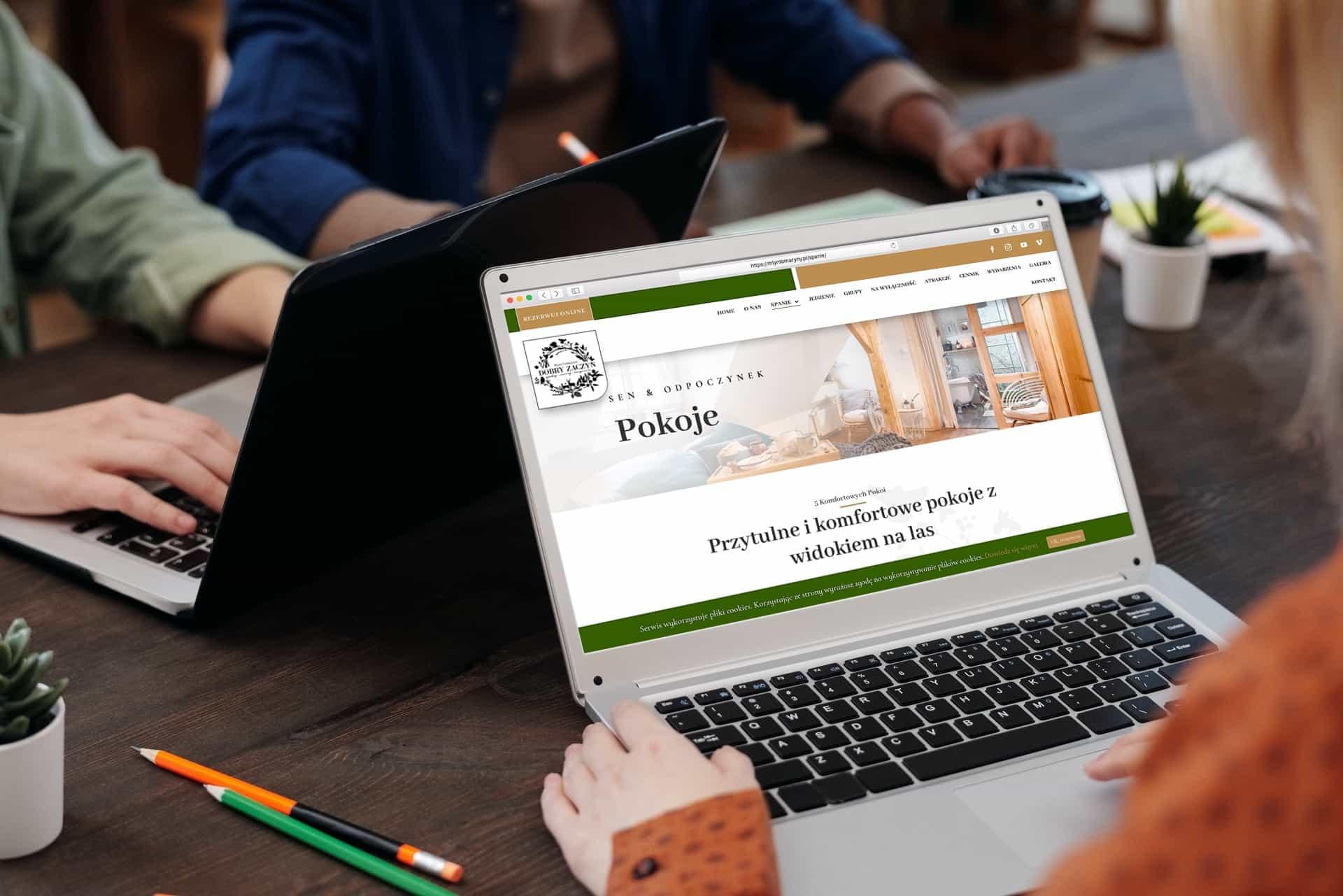 strona internetowa dla siedliska i agroturystyki - Ginter.pro