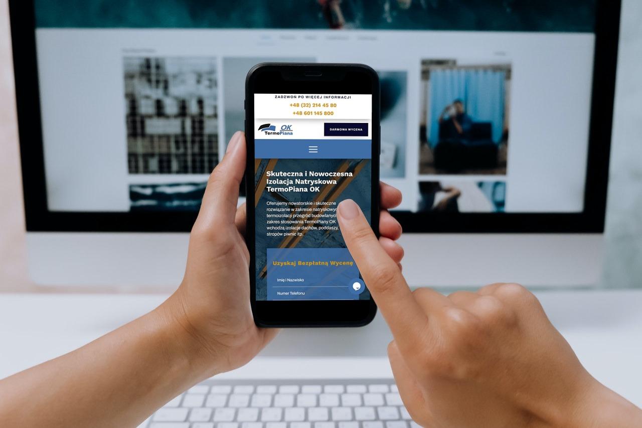 strona internetowa dla firmy z branży budowlanej - ginter.pro